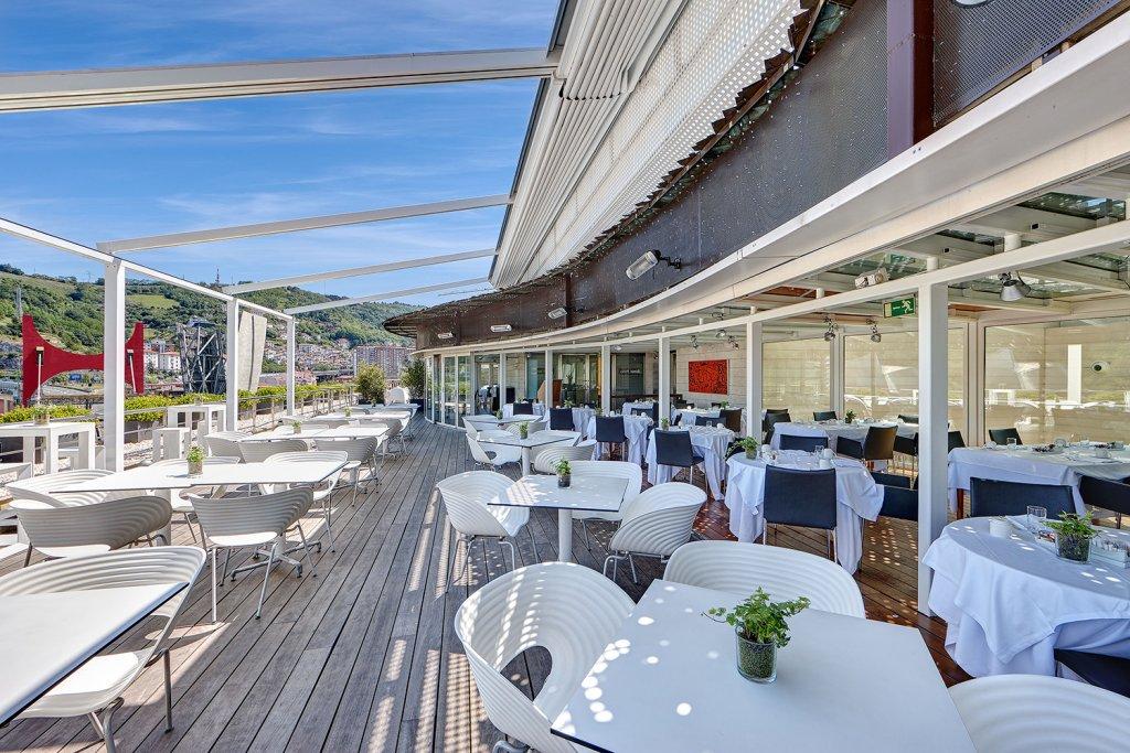 Terraza gran hotel domine las mejores vistas para un - Restaurante hotel domine bilbao ...