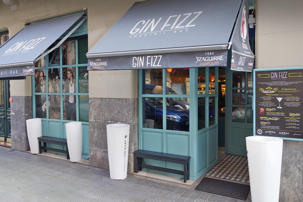 Ginn Fiz Bilbao - el auténtico cocktail bar de la ciudad - Gin Fizz cocktail bar Bilbao