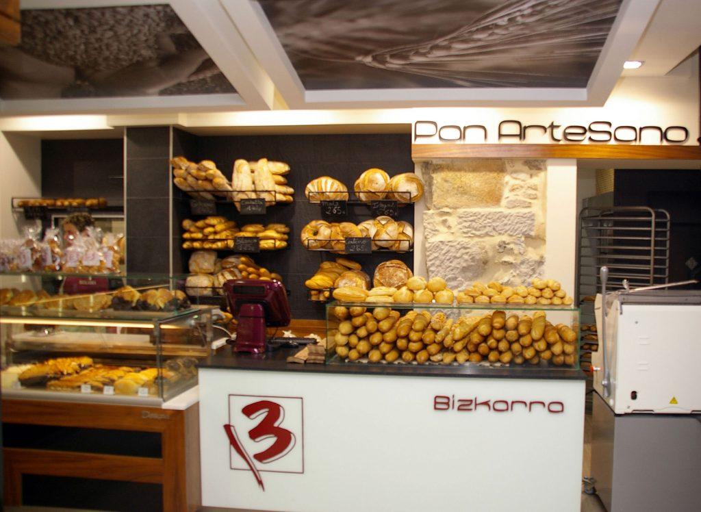 Panadería, pastelería Bizkarra