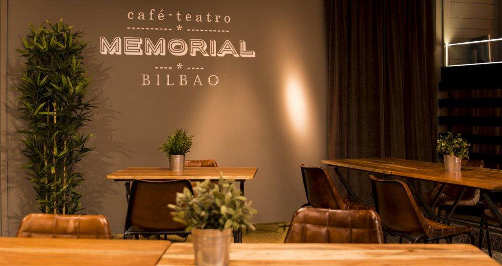 Café Teatro Memorial - Uno de los locales de moda de la noche de Bilbao