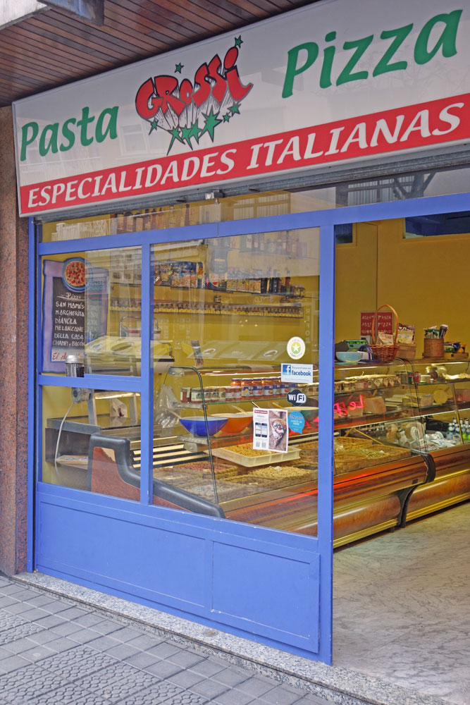 Pasta e Pizza Grossi - Especialidades italianas de pasta y pizza Bilbao
