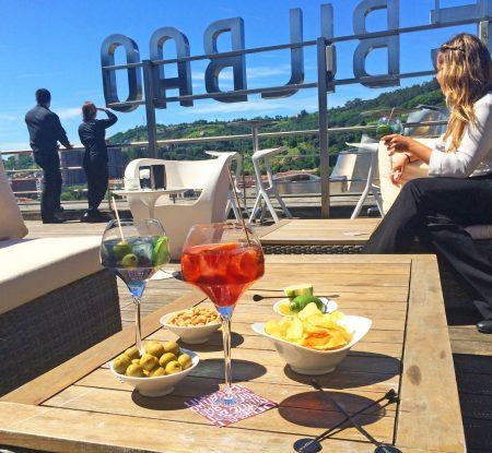 Terraza Gran Hotel Domine - Urban Food Bilbao