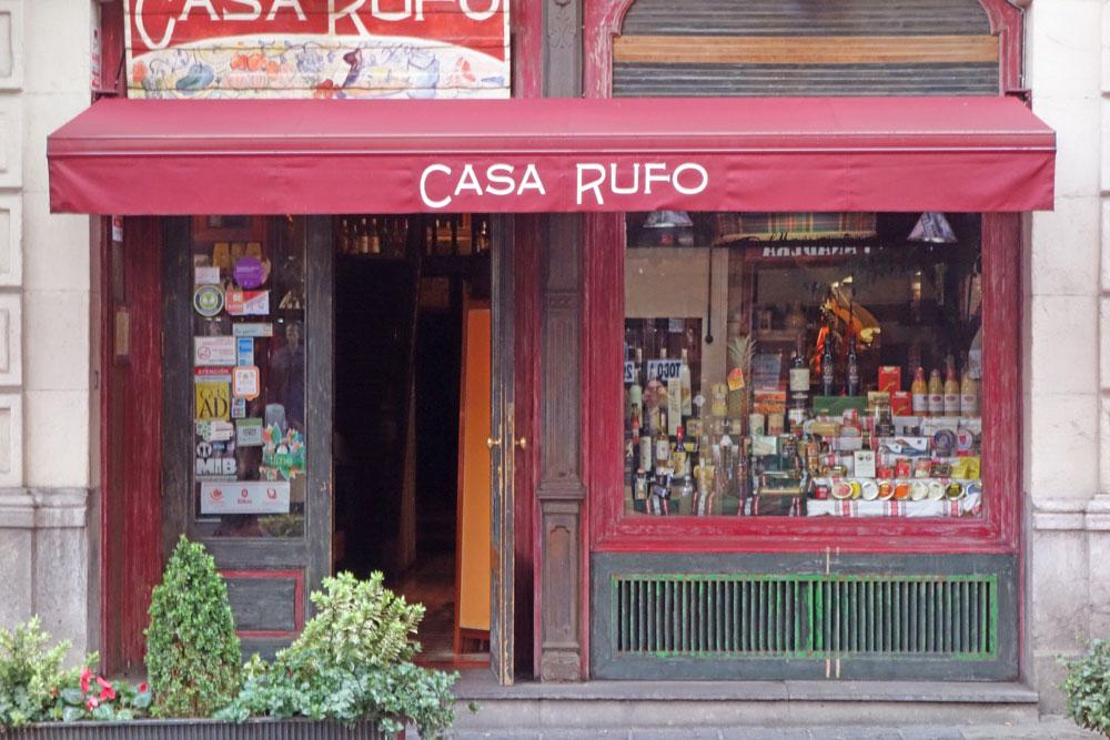 Casa Rufo - Pequeño restaurante con pocos platos y mucha calidad Bilbao
