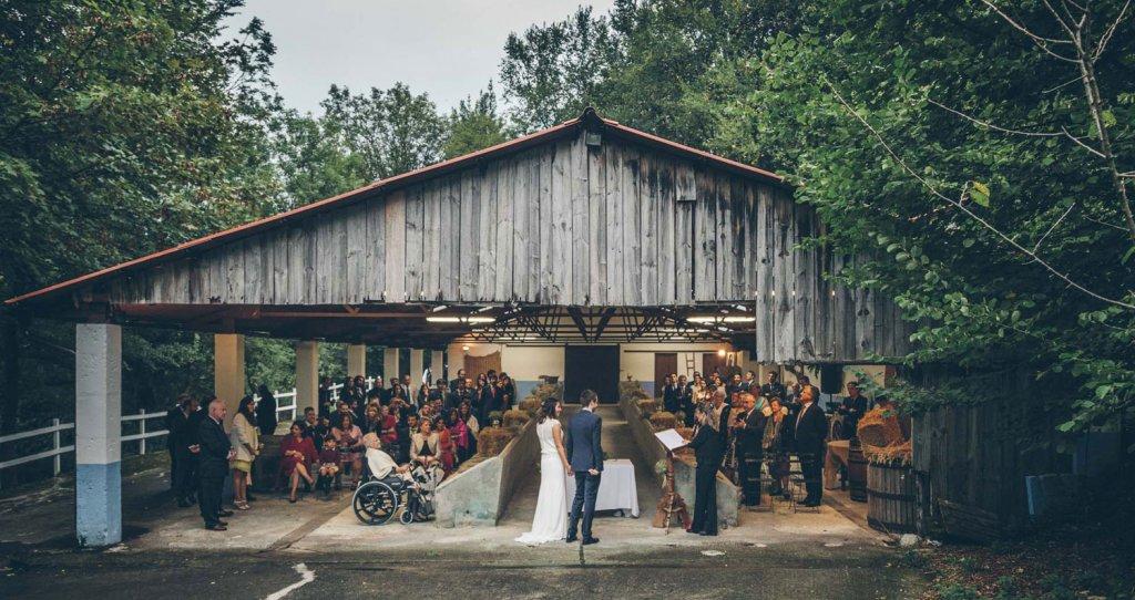 Finca Bauskain - Un antiguo caserón para celebrar bodas y reuniones Bilbao