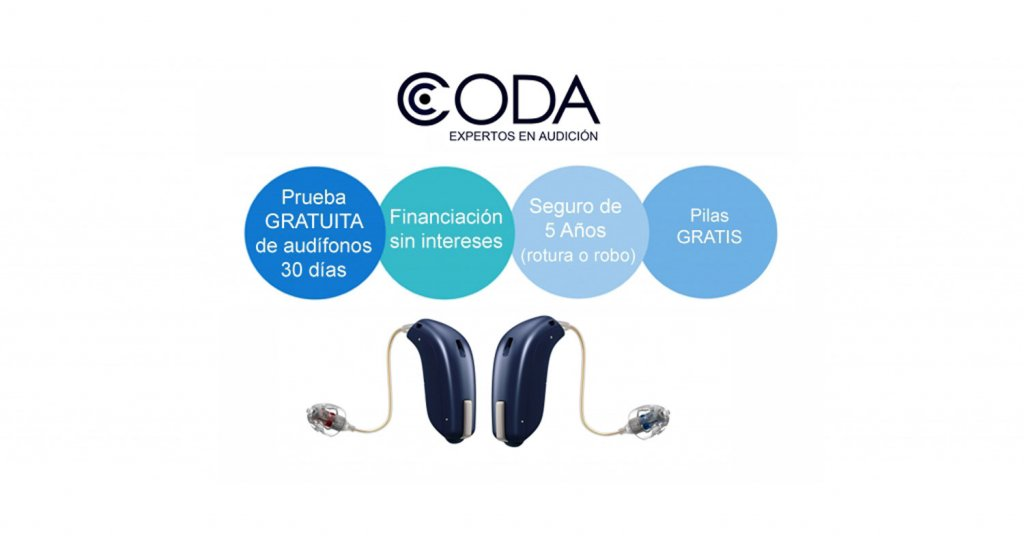 Clínica CODA Bilbao - trastornos de audición, audífonos, tapones...