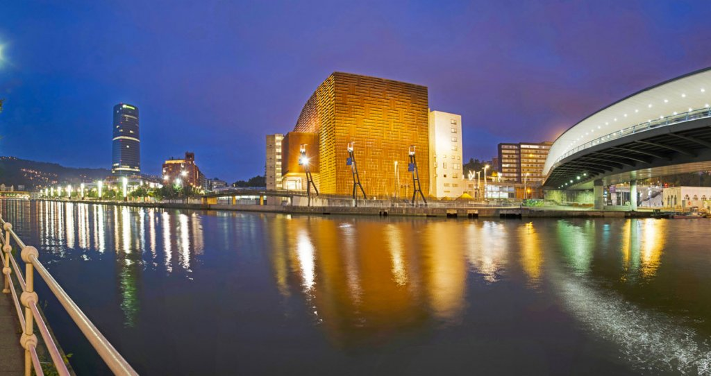 The Palacio Euskalduna - Bilbao's Convention and Performance Center