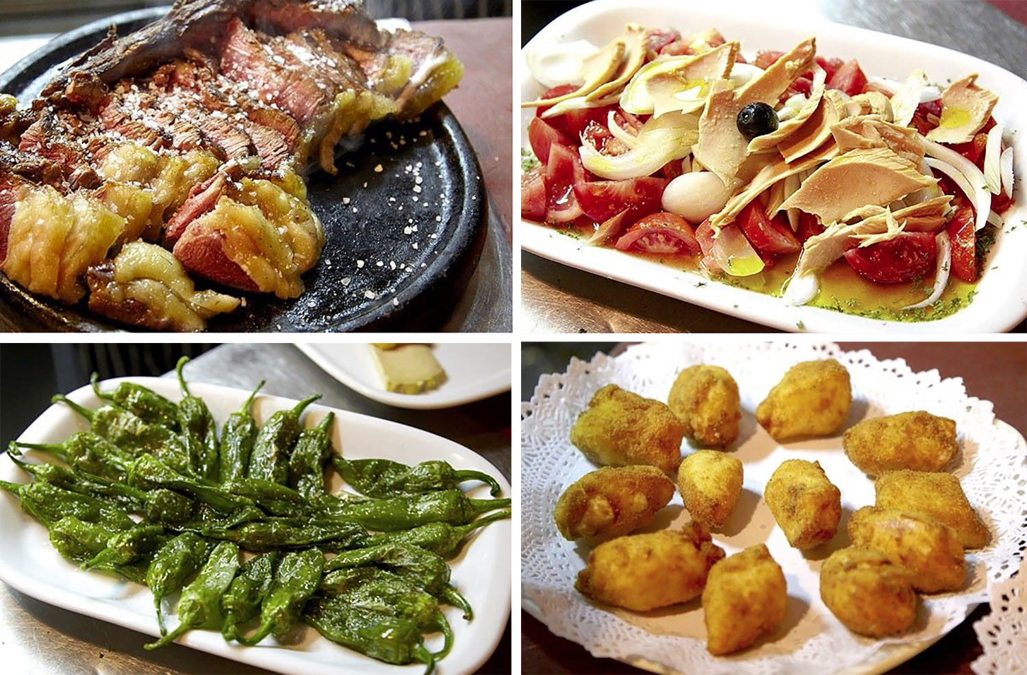Casa rufo is a small restaurant in bilbao with delicious for Vasque cuisine