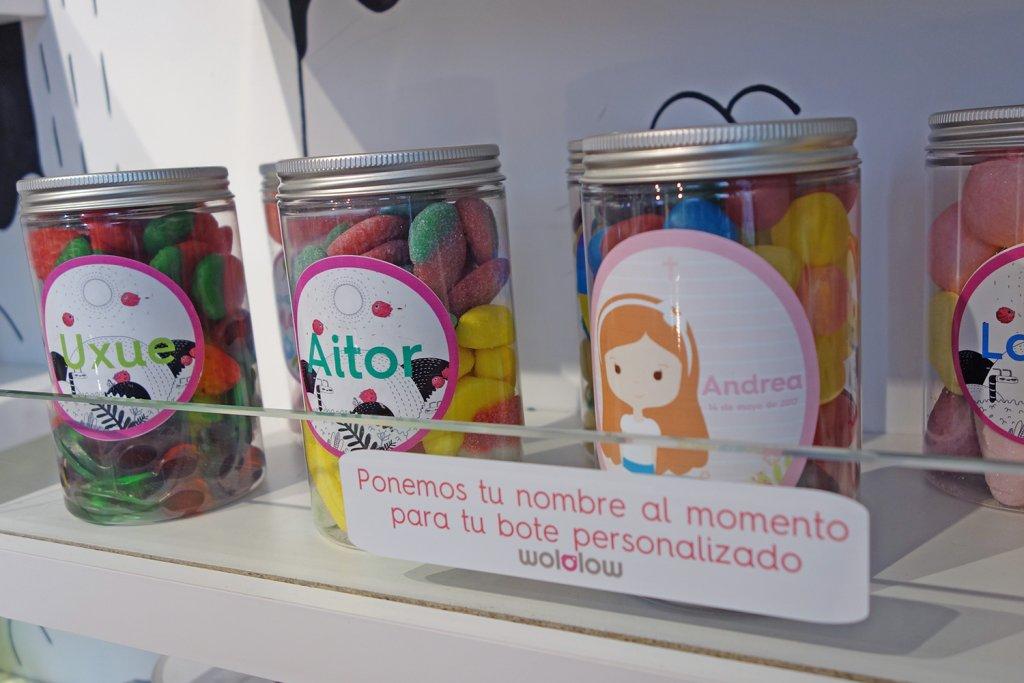 Wololow Bilbao - Golosinas personalizadas para eventos y fiestas - Wololow Bilbao