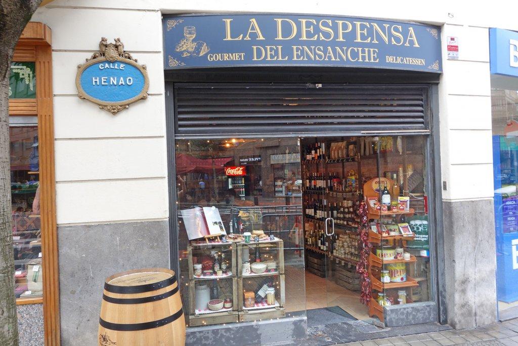 La Despensa del Ensanche - un lugar que te transporta al pasado. Bilbao - La Despensa del Ensanche