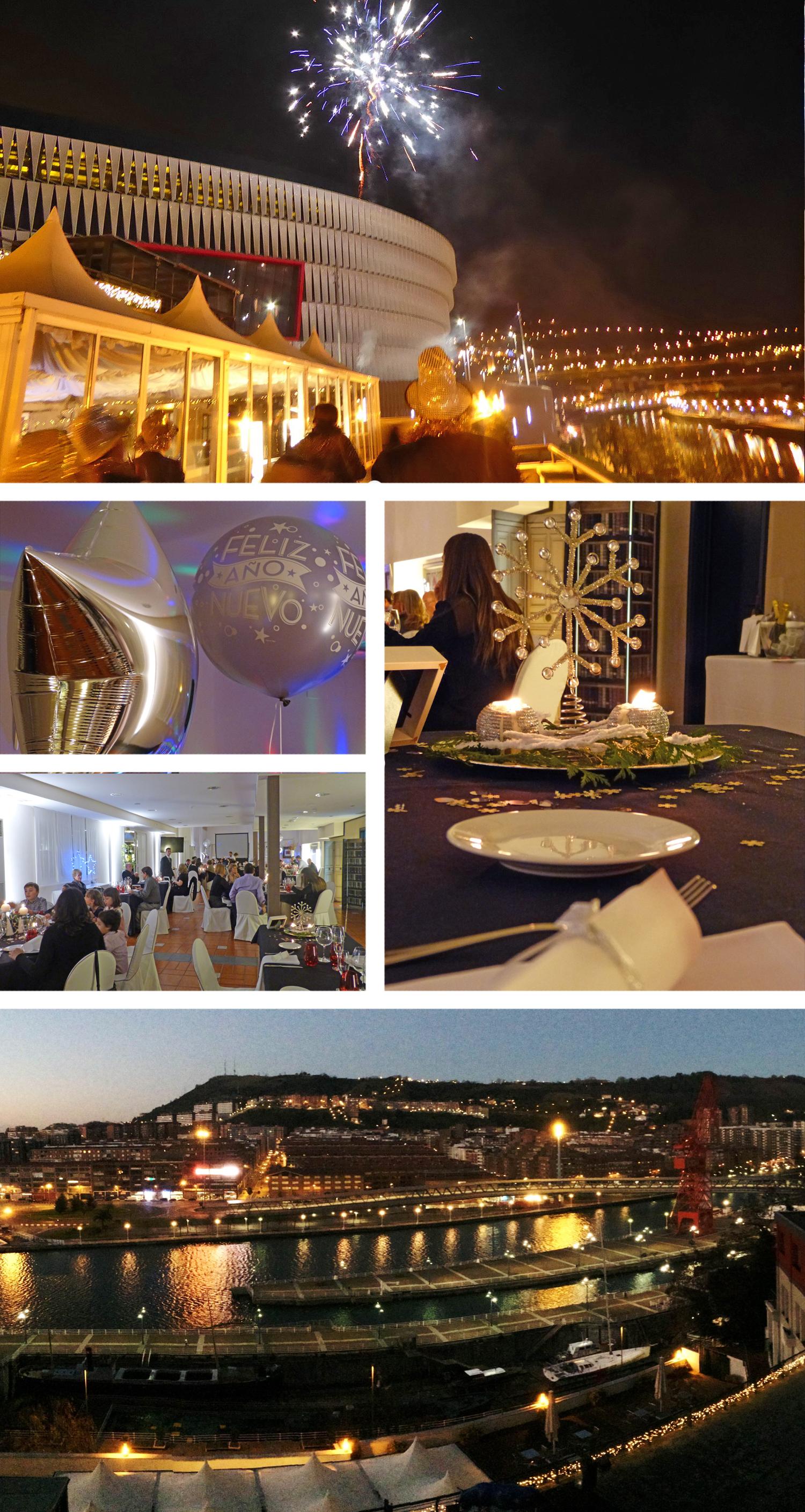 NH Zubialde Bilbao Menús de Navidad