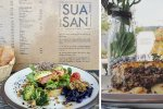 Sua San - Healthy meals in front of the Guggenheim Museum Bilbao