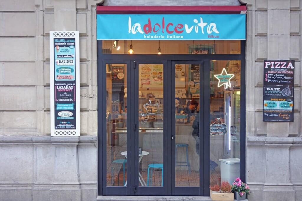 Ladolcevita - heladería artesana, dulces y gastronomía italiana. Bilbao