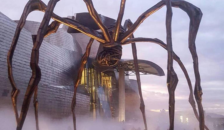 La araña del Museo Guggenheim
