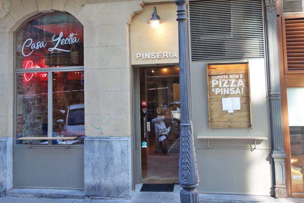 Casa Leotta Bilbao - No es Pizza ¡Es Pinsa! - Casa Leotta Bilbao