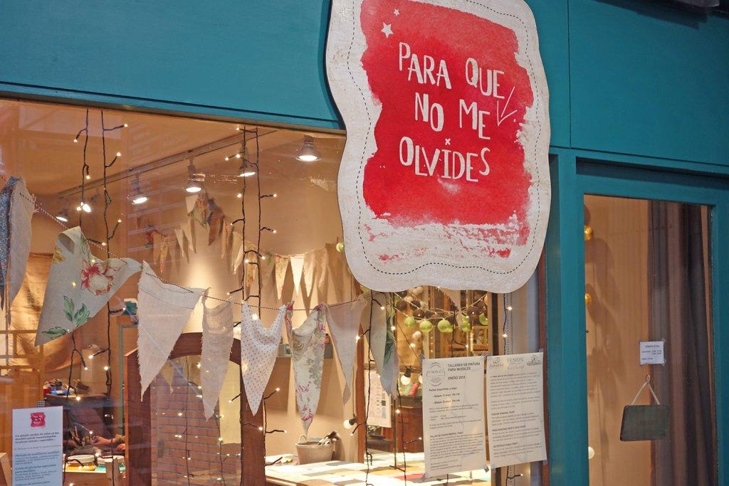 Tienda-Taller Para Que No Me Olvides en Bilbao ¡Transforma tus muebles! - para que no me olvides