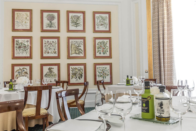 Restaurante Artagan del Hotel Carlton de Bilbao