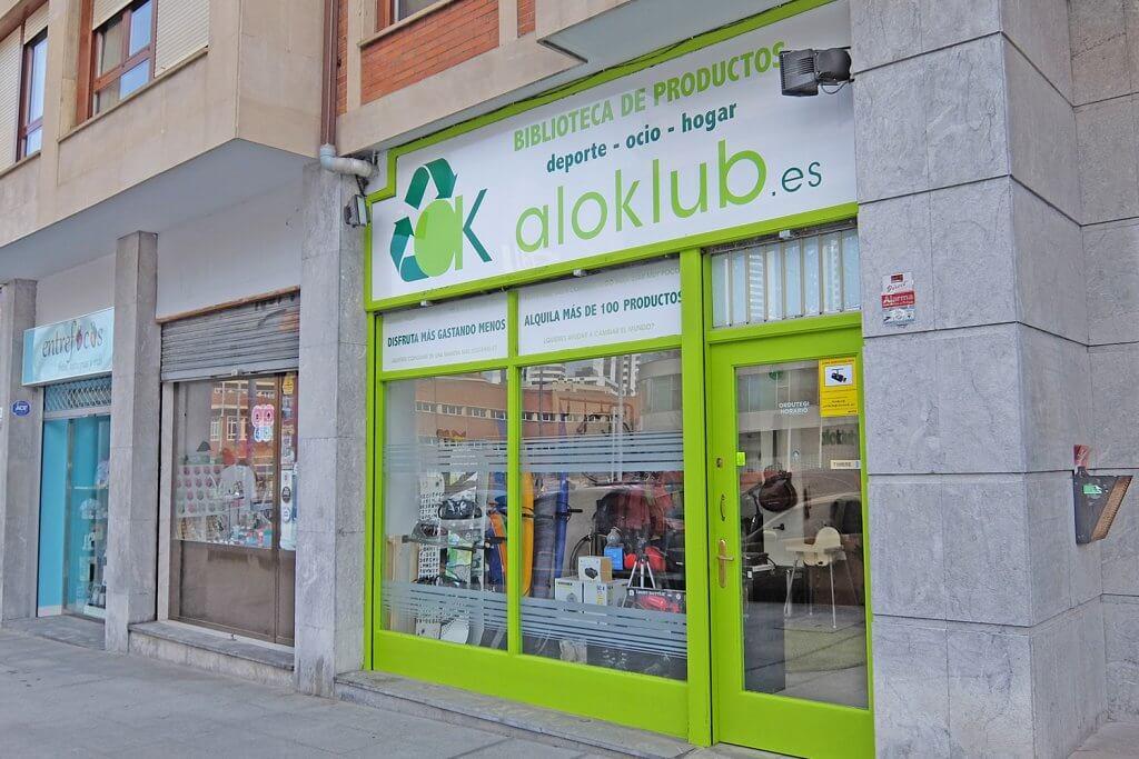 Aloklub: La primera biblioteca de productos en Bilbao - aloklub