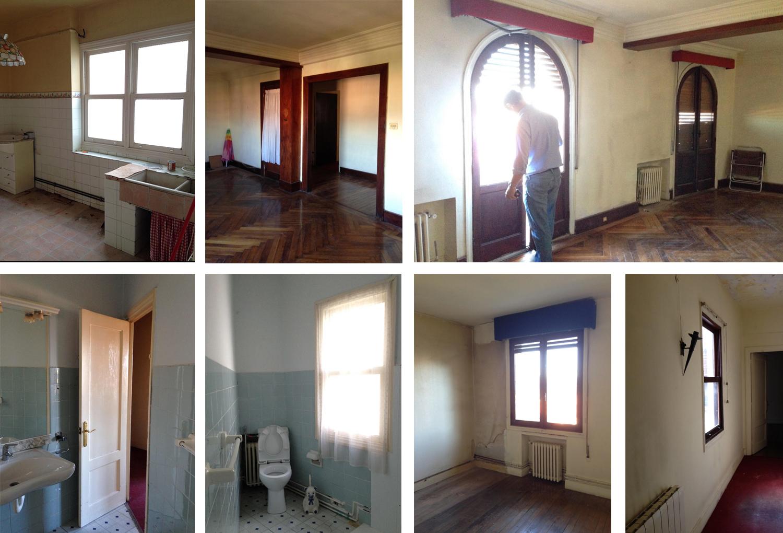 Reforma vivienda en Algorta Bizkaia realizada por Narata