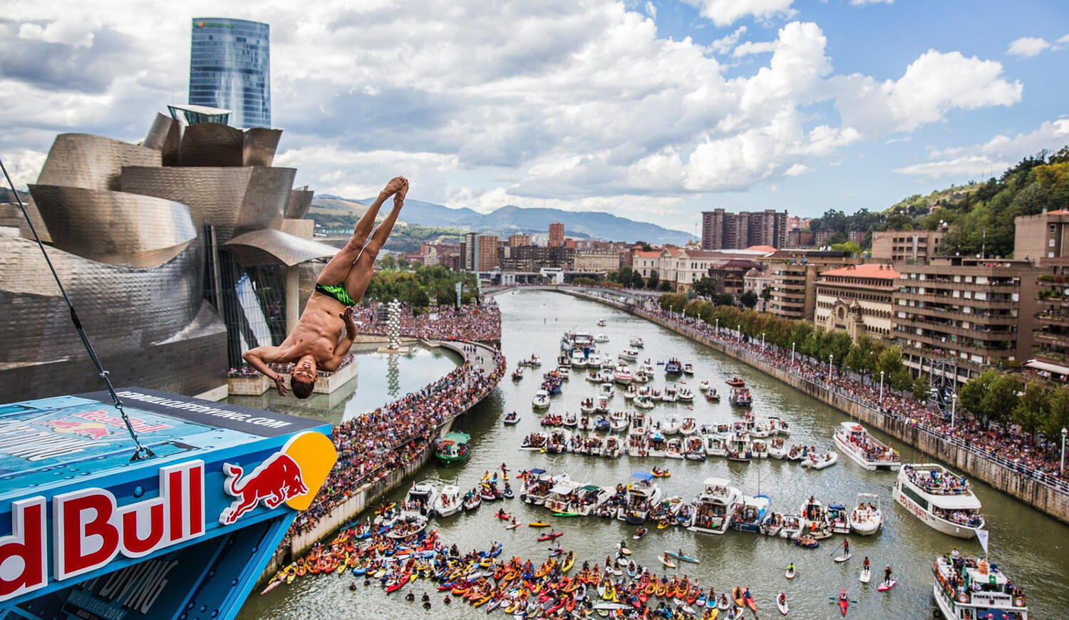 Redbull Cliff Diving Bilbao 2018
