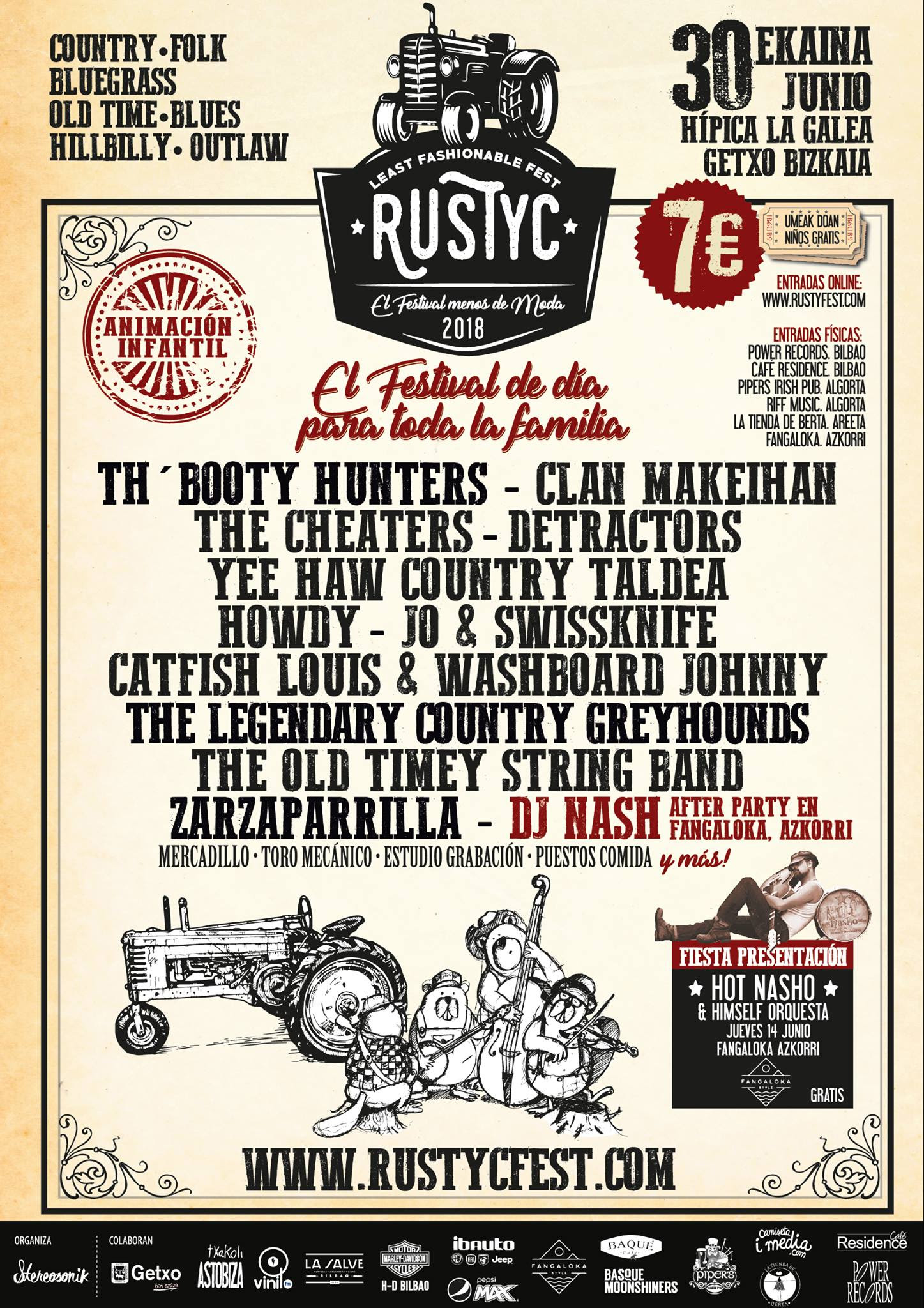 RUSTYC MUSIC FEST La GAlea Getxo