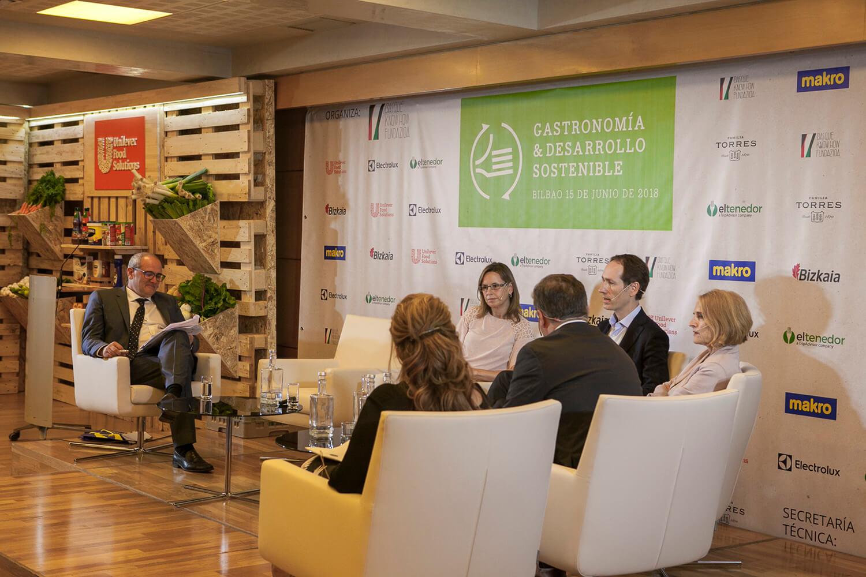 Jornadas sobre gastronomia y desarrollo sostenible en Bilbao