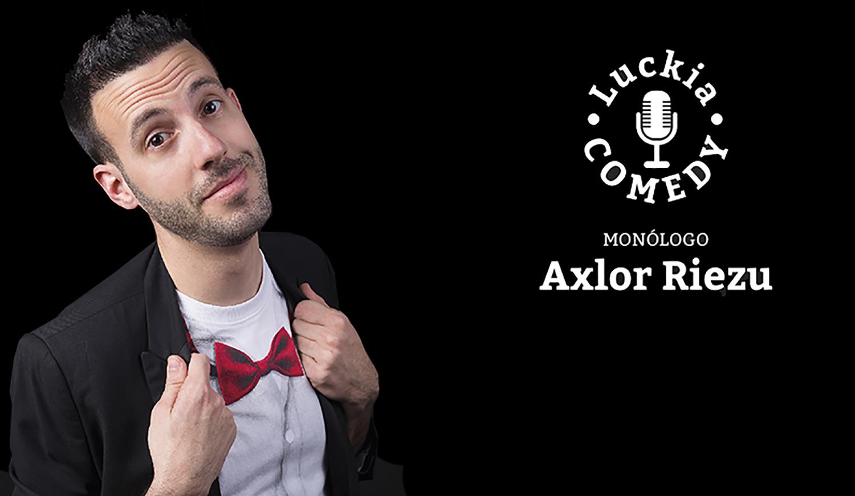 Monólogo de Axlor Riezu en el Casino de Bilbao