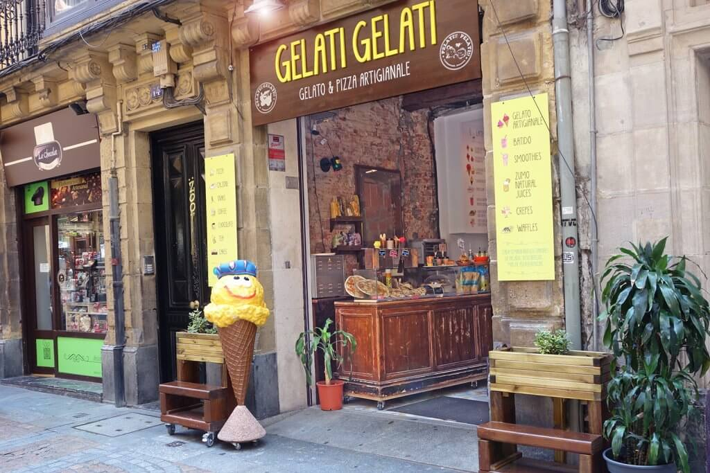 Heladería artesanal Gelati Gelati en Bilbao, Santutxu, Mungia y Maruri. - heladería Gelati Gelati