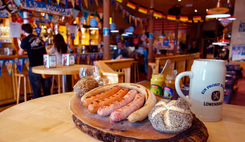 Ein Prosit, restaurante alemán de Bilbao.
