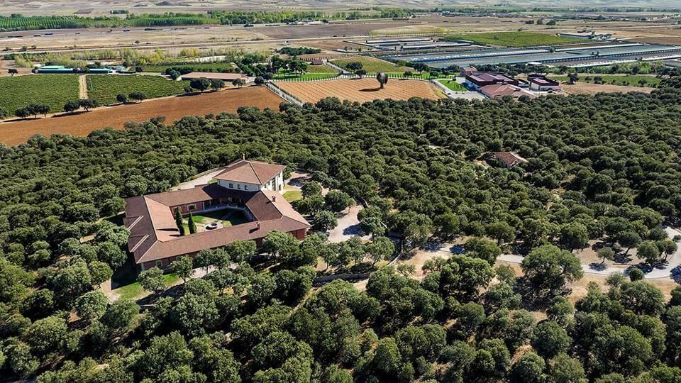 Finca De Santa Rosalía en Vizmalo, Burgos.