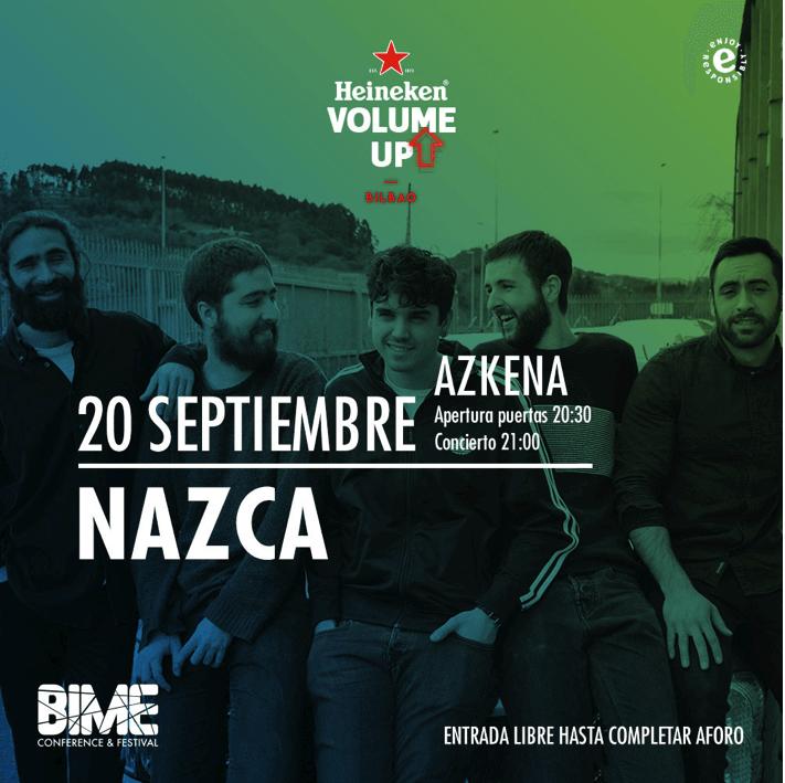 NAZCA - Heineken Volume Up