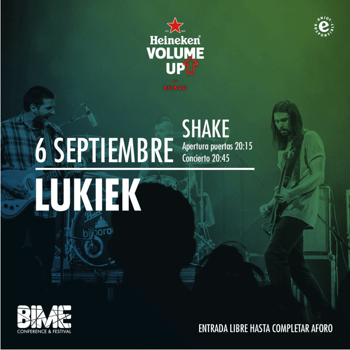 Lukiek - Heineken Volume Up