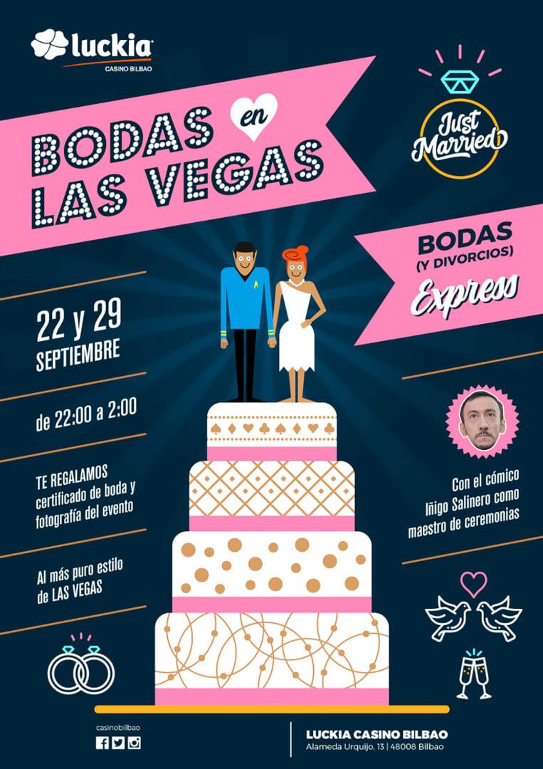 Bodas y Divorcios Express en el Casino de Bilbao
