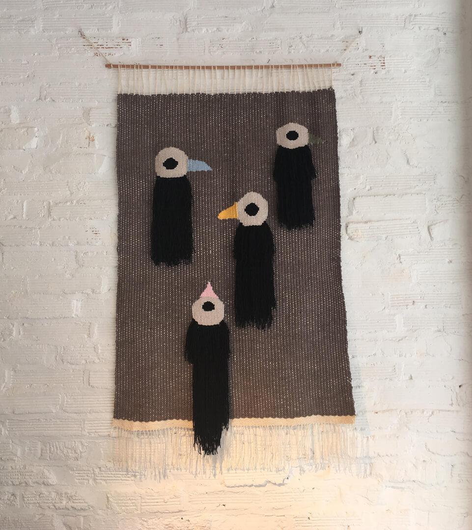 Exposición Birds de Amara Montes en Narata Bilbao