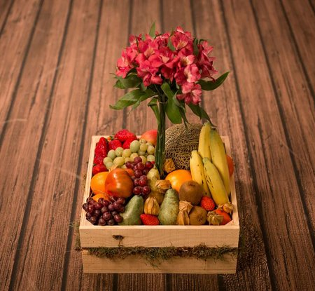 Flor Fruits Box - Flowers Bilbao