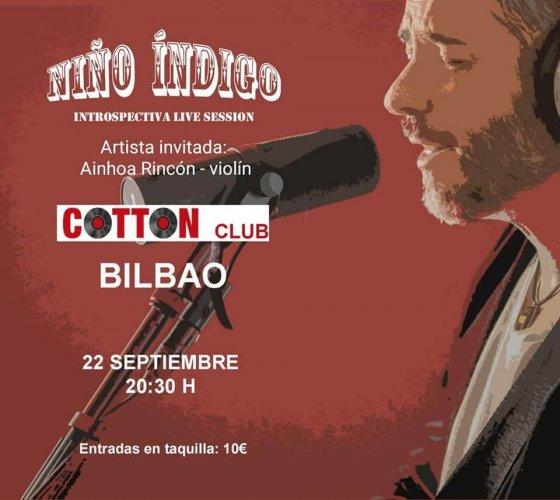 Concierto de Niño Indigo en Cotton Club Bilbao