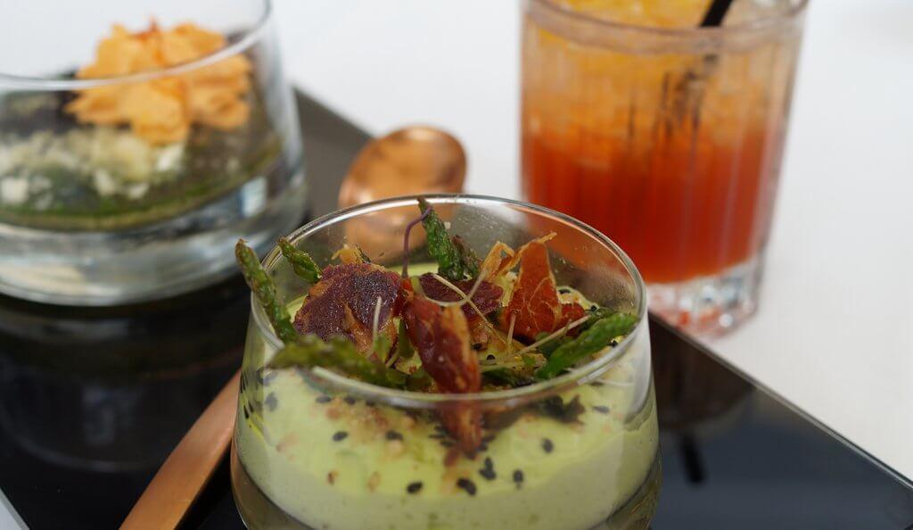 Menú Gastro Cocktail en el Restaurante Yandiola de Bilbao