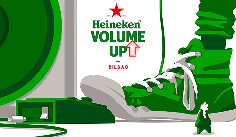 Heineken Volume Up