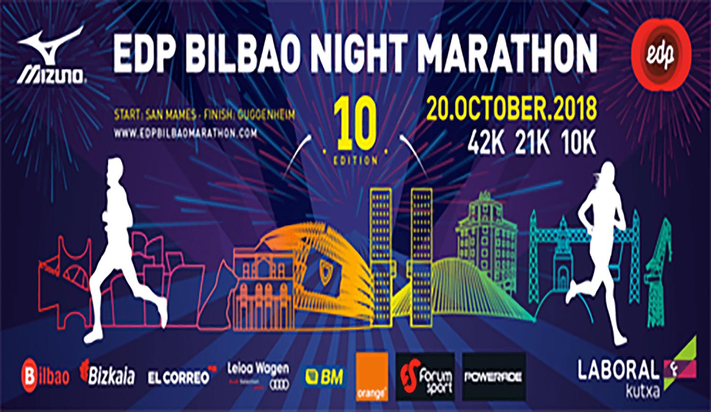 Bilbao Night Marathon 2018