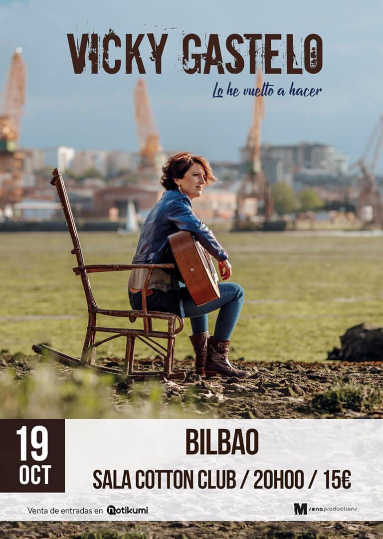 Concierto Vicky Gastelo en Cotton Club Bilbao