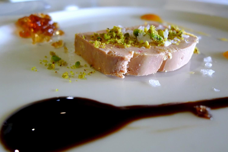 Un plato del Restaurante Aspaldiko
