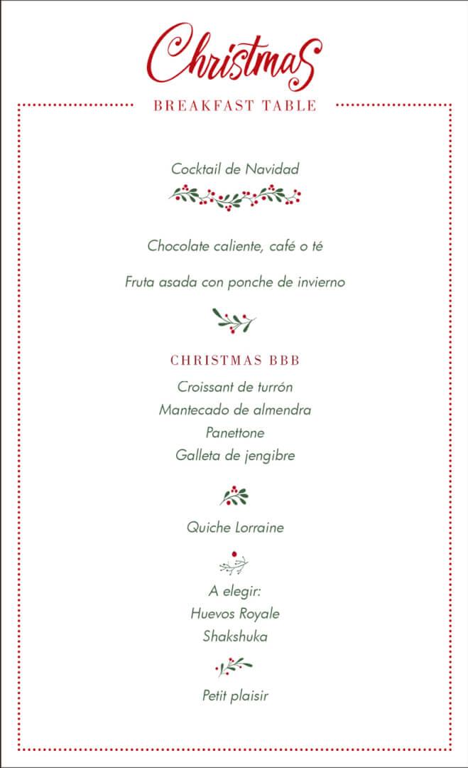 Desayuno de Navidad en el Miró Hotel de Bilbao