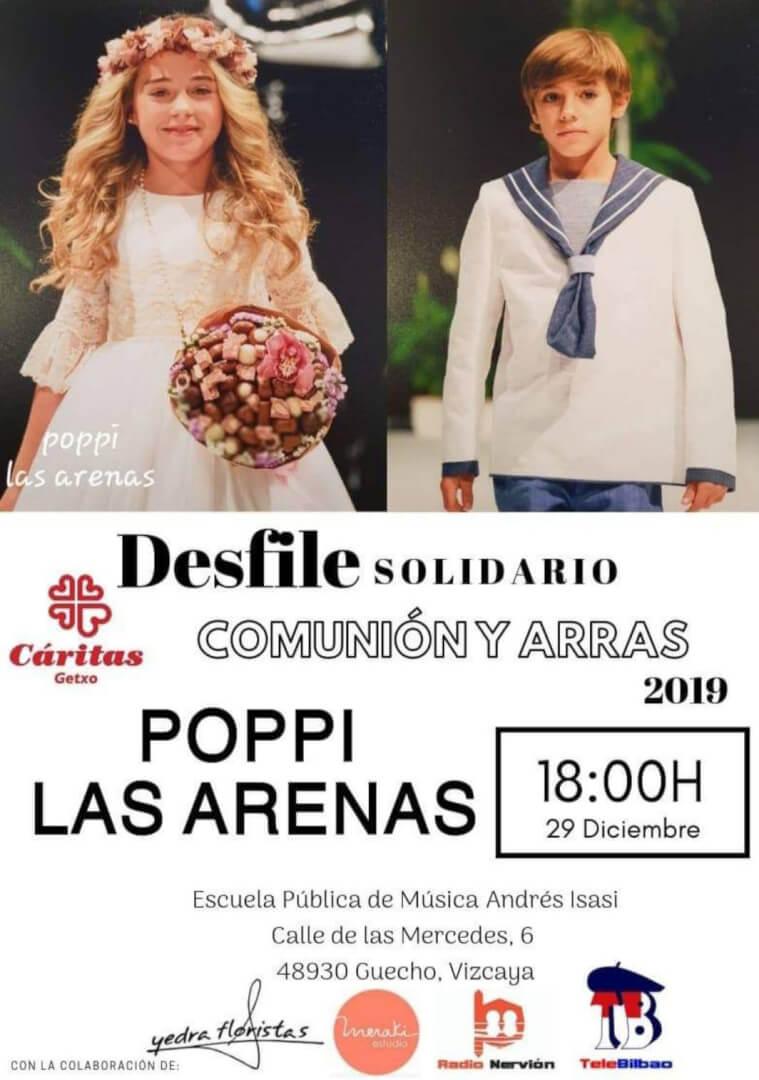 Poppi Las Arenas desfile