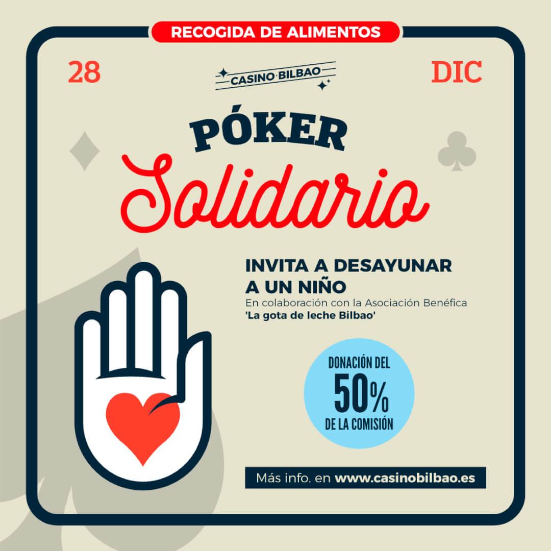 Poker Solidario Casino Bilbao