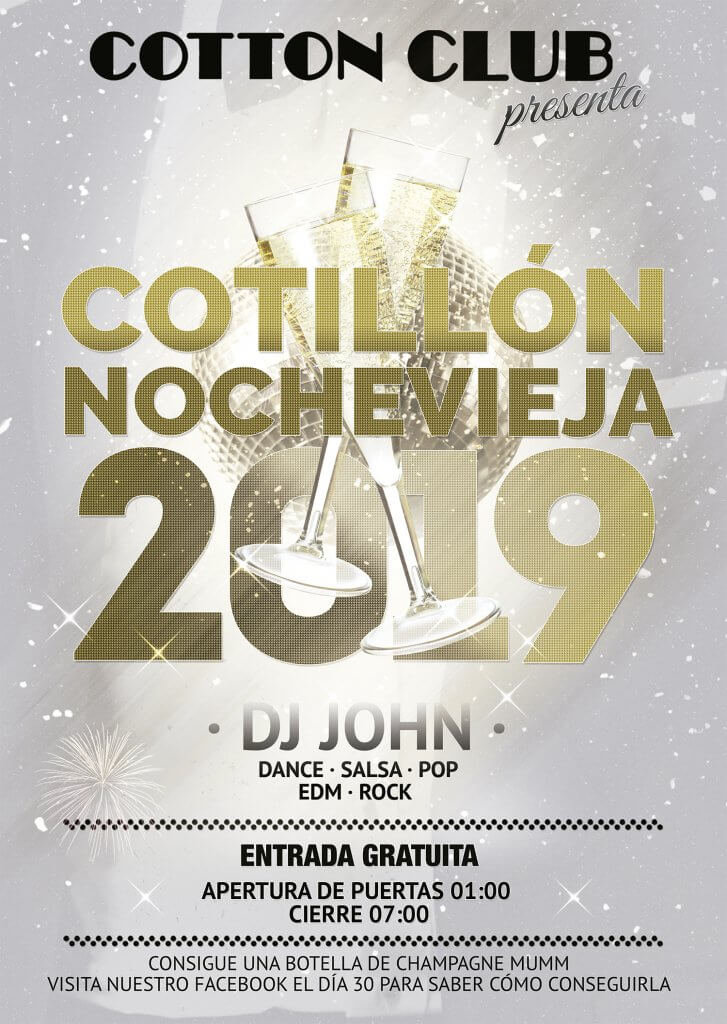 Nochevieja Cotton Club 2019