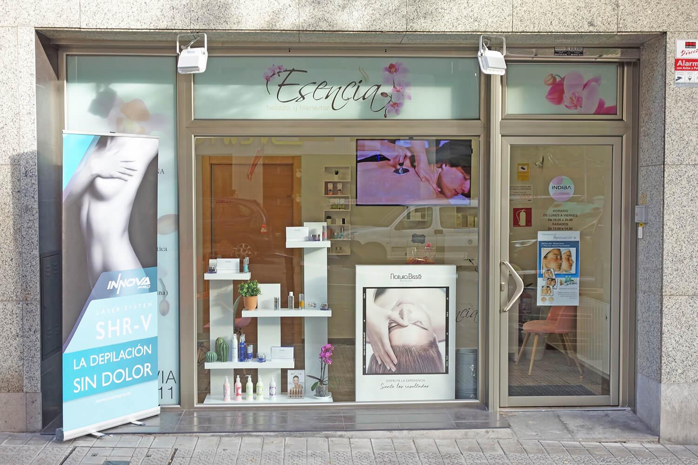 Centro de estética Esencia en Bilbao