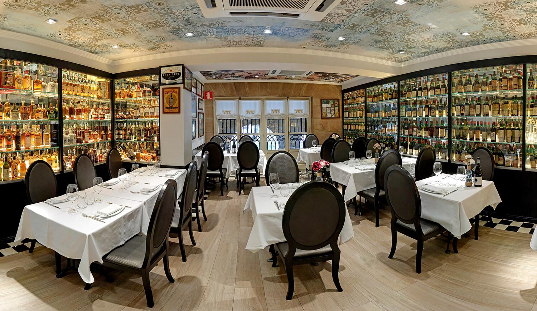 Menú de Nochevieja en el Restaurante Victor Montes de Bilbao