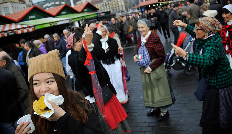 Feria de Santo Tomás 2018 en Bilbao