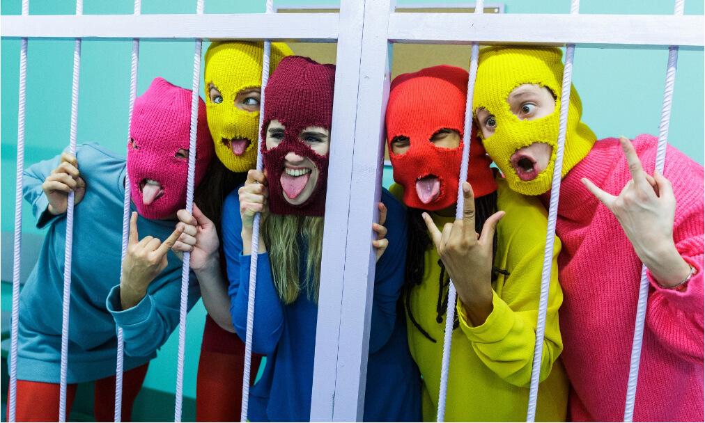 Pussy Riot en Bilbao