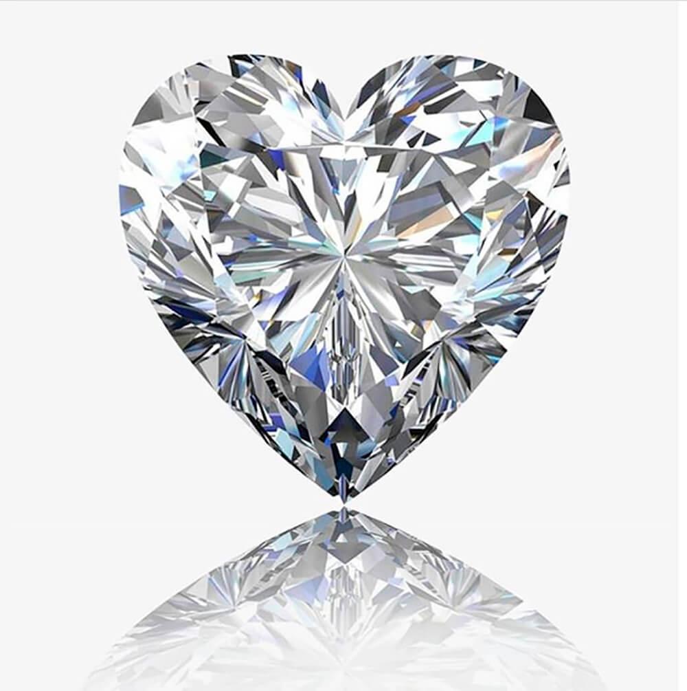 Diamante talla Corazón