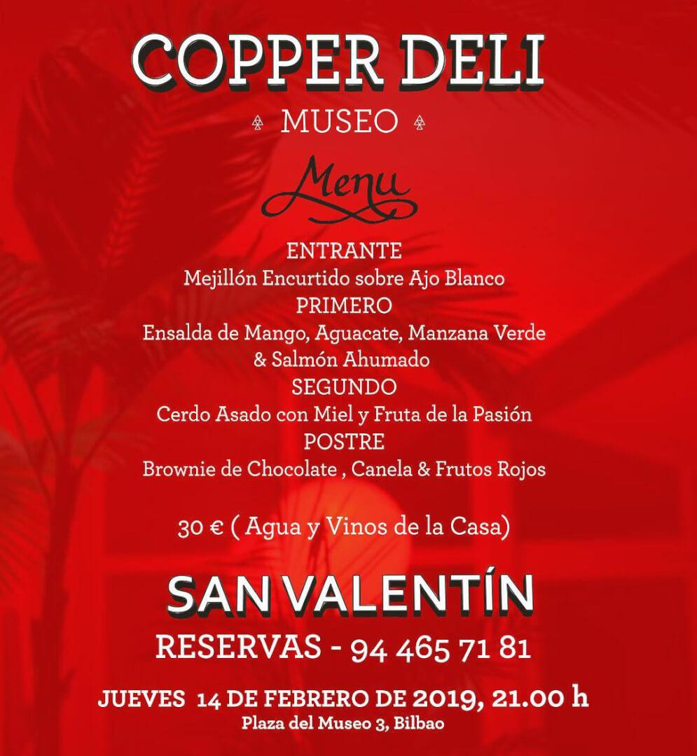 San Valentín Copper Deli